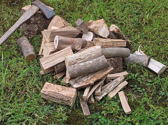 昔ながらの原木栽培で秋田の干し椎茸生産量NO.1の岩城町農園から秋田の薪、広葉樹のミックスセットが登場!